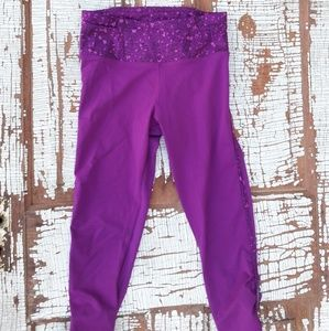 lululemon athletica Pants - Lululemon crops fuchsia 4